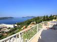 Balcony 2 - Apartment A-9088-a - Apartments Orašac (Dubrovnik) - 9088