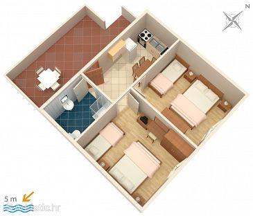 Apartment A-909-b - Apartments Savar (Dugi otok) - 909