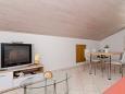 Molunat, Living room u smještaju tipa apartment, dostupna klima i WIFI.