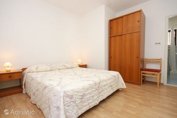 Molunat, Bedroom u smještaju tipa room, dostupna klima i WIFI.