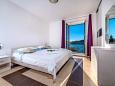Bedroom 1 - Apartment A-9110-a - Apartments Štikovica (Dubrovnik) - 9110