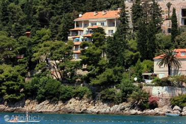 Property Dubrovnik (Dubrovnik) - Accommodation 9120 - Apartments near sea with pebble beach.