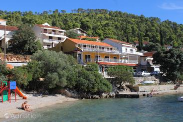 Property Brna (Korčula) - Accommodation 9162 - Apartments near sea with sandy beach.