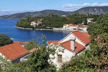 Property Račišće (Korčula) - Accommodation 9163 - Vacation Rentals near sea with pebble beach.