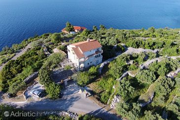 Property Račišće (Korčula) - Accommodation 9170 - Apartments with pebble beach.