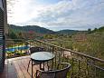 Balcony 1 - House K-9178 - Vacation Rentals Prižba (Korčula) - 9178