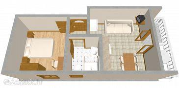 Apartment A-919-b - Apartments Brodarica (Šibenik) - 919