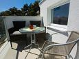 Rastići, Balcony u smještaju tipa apartment, s pogledom na more i WIFI.