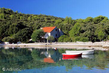 Property Uvala Vrbovica (Korčula) - Accommodation 9223 - Vacation Rentals near sea with pebble beach.