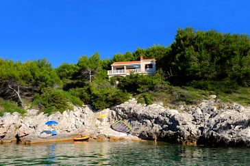 Property Prižba (Korčula) - Accommodation 9229 - Apartments near sea with rocky beach.