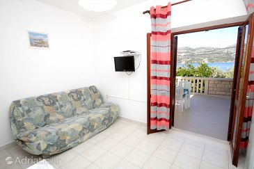 Tri Žala, Living room u smještaju tipa apartment, WIFI.