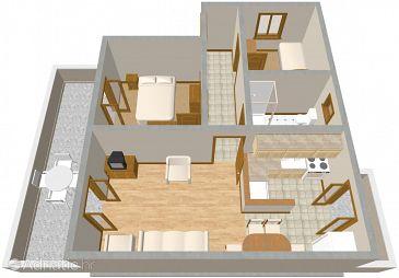 Apartment A-924-a - Apartments Raslina (Krka) - 924