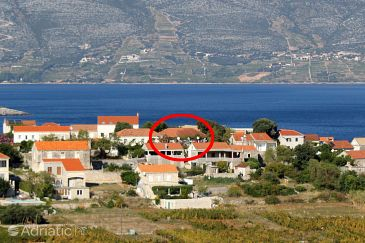 Property Lumbarda (Korčula) - Accommodation 9262 - Apartments with sandy beach.