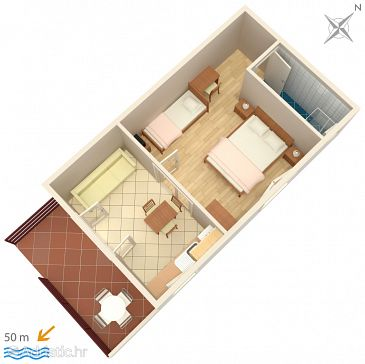 Apartment A-928-b - Apartments Vodice (Vodice) - 928