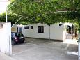 Parking lot Vodice (Vodice) - Accommodation 928 - Apartments near sea with pebble beach.