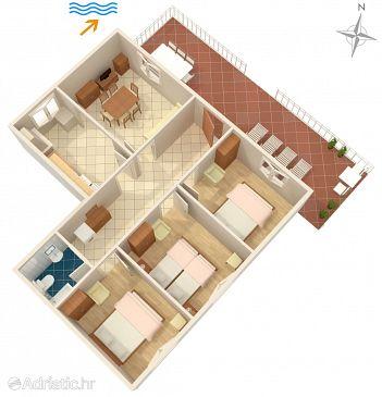 House K-9289 - Vacation Rentals Črnja Luka (Korčula) - 9289