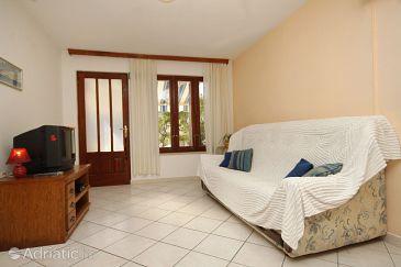 Tri Žala, Living room u smještaju tipa apartment, dostupna klima i WIFI.