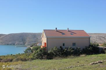 Property Vlašići (Pag) - Accommodation 9324 - Apartments with sandy beach.