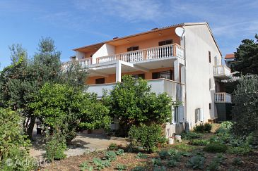 Property Novalja (Pag) - Accommodation 9339 - Apartments with pebble beach.