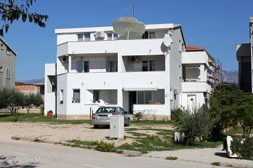 Property Gajac (Pag) - Accommodation 9358 - Apartments with pebble beach.
