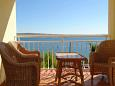 Terrace - Apartment A-9393-a - Apartments Vidalići (Pag) - 9393