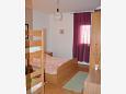 Stara Novalja, Bedroom 2 u smještaju tipa apartment, WIFI.