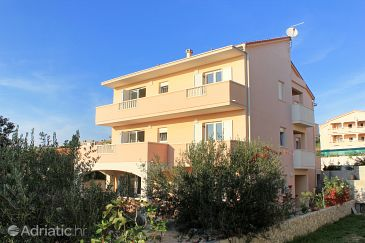 Property Novalja (Pag) - Accommodation 9403 - Apartments with pebble beach.