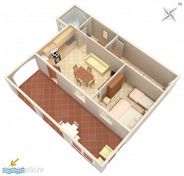 Apartment A-941-a - Apartments Seget Vranjica (Trogir) - 941