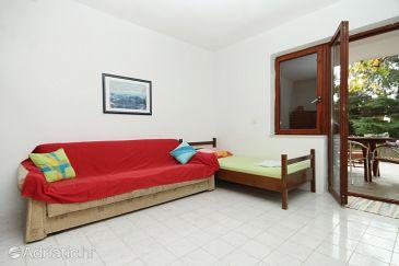 Mandre, Living room u smještaju tipa apartment, WIFI.