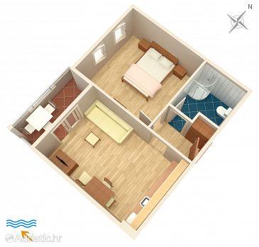 Apartment A-9437-h - Apartments Duće (Omiš) - 9437