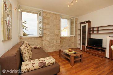 Orebić, Living room u smještaju tipa apartment, WIFI.