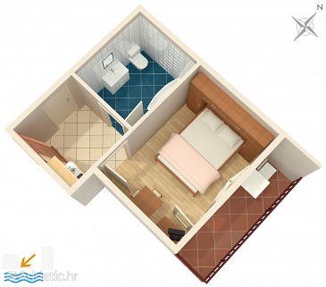 Studio flat AS-946-f - Apartments Duće (Omiš) - 946