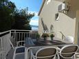 Balcony - view - Studio flat AS-946-f - Apartments Duće (Omiš) - 946