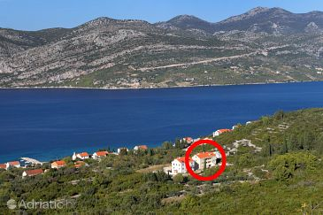 Property Kneža (Korčula) - Accommodation 9479 - Apartments with pebble beach.