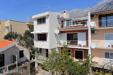 Property Makarska (Makarska) - Accommodation 9506 - Apartments with pebble beach.