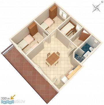 Apartment A-956-b - Apartments Marušići (Omiš) - 956