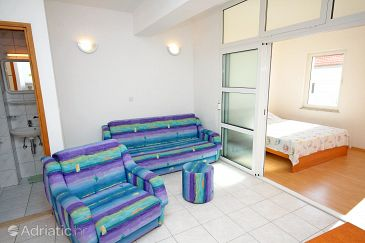 Marušići, Living room u smještaju tipa apartment, dostupna klima i WIFI.