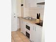Kitchen - Studio flat AS-9654-a - Apartments Drvenik Donja vala (Makarska) - 9654