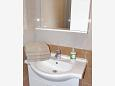 Bathroom - Studio flat AS-9654-a - Apartments Drvenik Donja vala (Makarska) - 9654