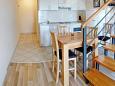 Dining room - Studio flat AS-9654-b - Apartments Drvenik Donja vala (Makarska) - 9654