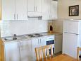 Kitchen - Studio flat AS-9654-b - Apartments Drvenik Donja vala (Makarska) - 9654