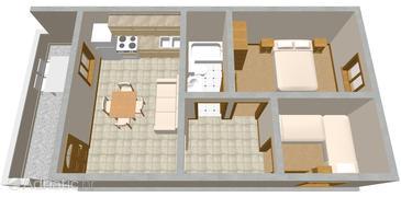 Apartment A-978-a - Apartments Seget Vranjica (Trogir) - 978