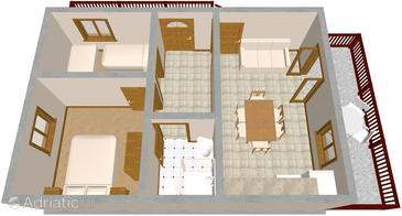 Apartment A-978-b - Apartments Seget Vranjica (Trogir) - 978