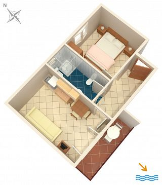 Apartment A-996-c - Apartments Pasadur (Lastovo) - 996