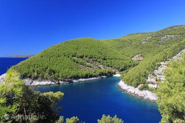 Bratinja Luka on the island Korčula (Južna Dalmacija)