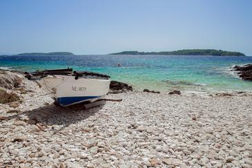 Uvala Nova on the island Korčula (Južna Dalmacija)