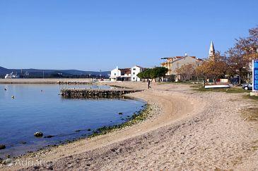Beach  in Turanj, Biograd.