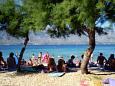 Beach  in Ražanac, Zadar.