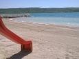 Plaža  u mjestu Rtina - Miočići, Zadar.