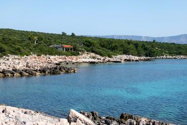 Uvala Girna Luka on the island Hvar (Srednja Dalmacija)